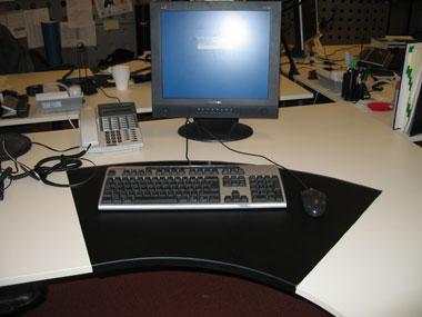 Bytt skrivbord med chefen