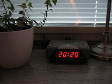 Tiden går