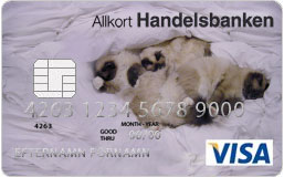 Kreditkort med egen design