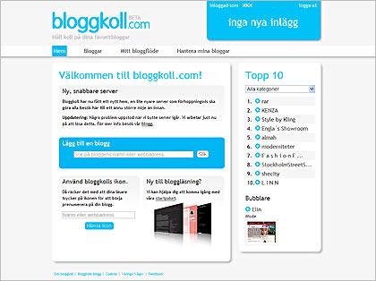 Bloggkoll