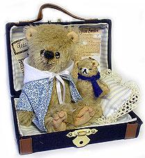 Sonny med resväskan