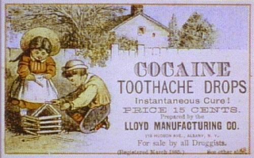 cocaine-toothache